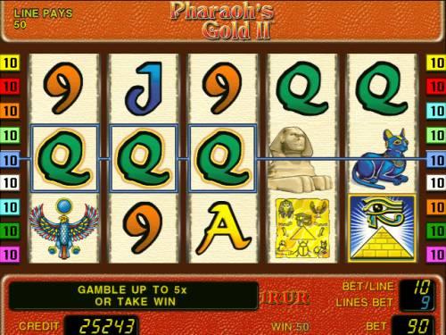 В игровом автомате схема игры